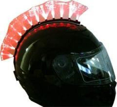 Fiber Optic Motorcycle Helmet