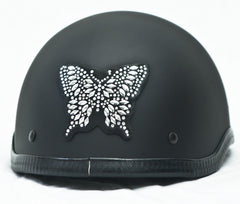 Rhinestone Helmet Patches    Butterflies   Choice of Styles