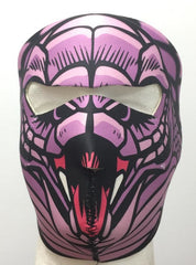 Neoprene Face Mask Snake Lady