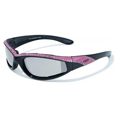 "Biker Glasses Global Vision ""Marilyn"" Sunglasses pink and black"
