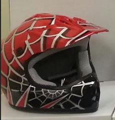 DOT Youth Helmet ATV Dirt Bike MX Spider Motorcycle Helmet Choice of Colors