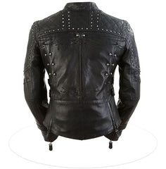 Women's Brazilian Waxed Leather Jacket