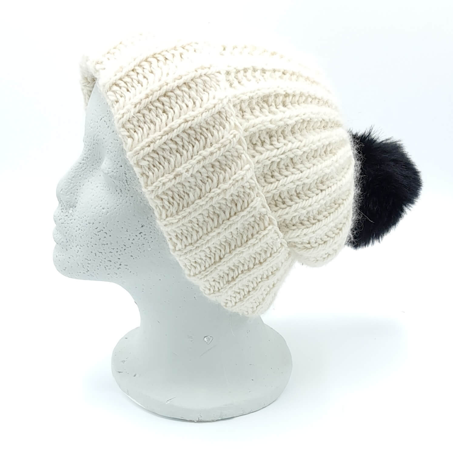 Knit Kit - Aran Fisherman's Rib Hat