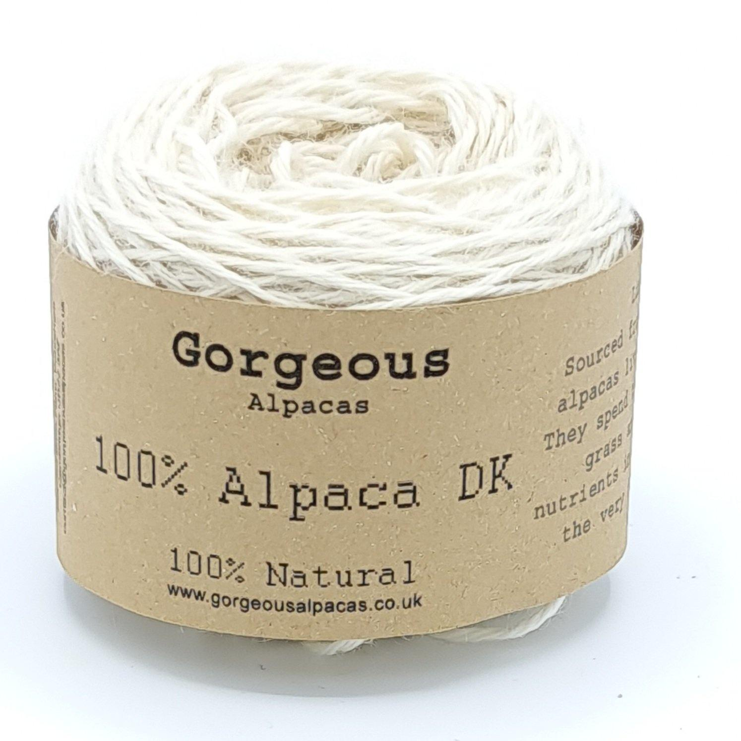 Limited Edition DK 100% Alpaca Yarn 50g - Gorgeous Alpacas