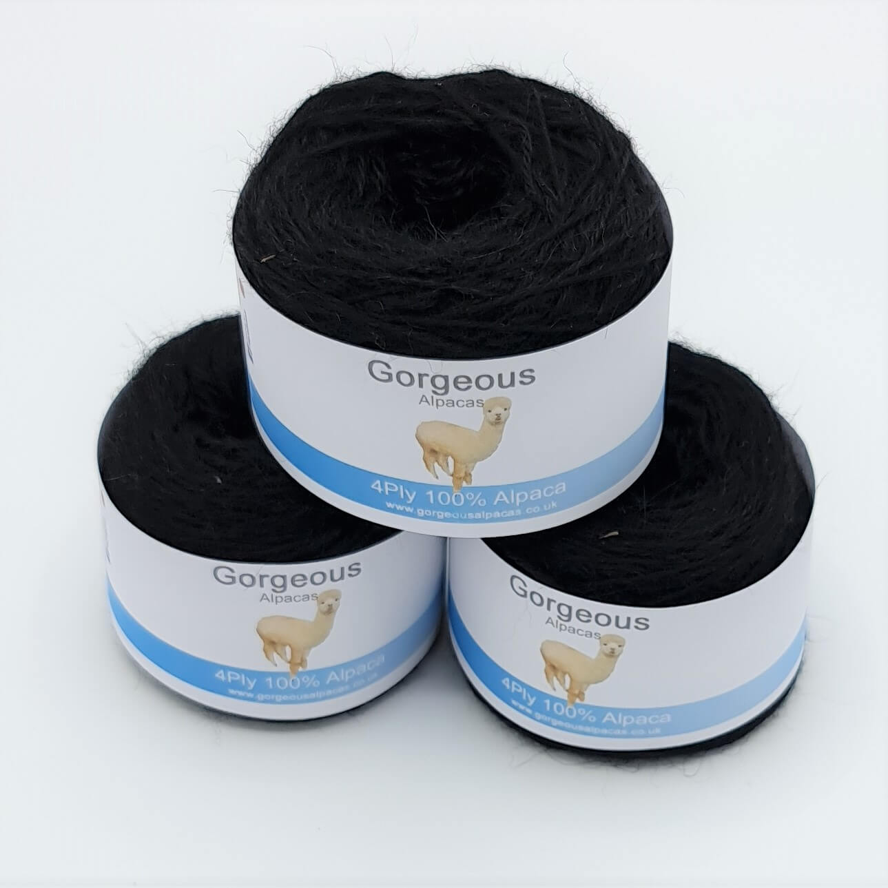 100% Alpaca Yarn - 4Ply - 50g - Gorgeous Alpacas