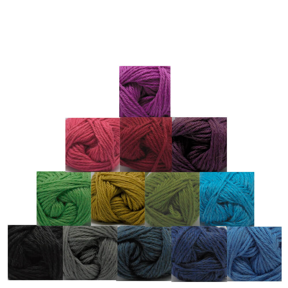 Knit Kit - Lightweight Beginners Cushion 43cm x 33cm +