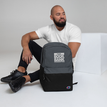 Load image into Gallery viewer, Book Bank Foundation Embroidered Champion Backpack