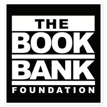 Load image into Gallery viewer, Book Bank Foundation Fundraising Bubble-free stickers