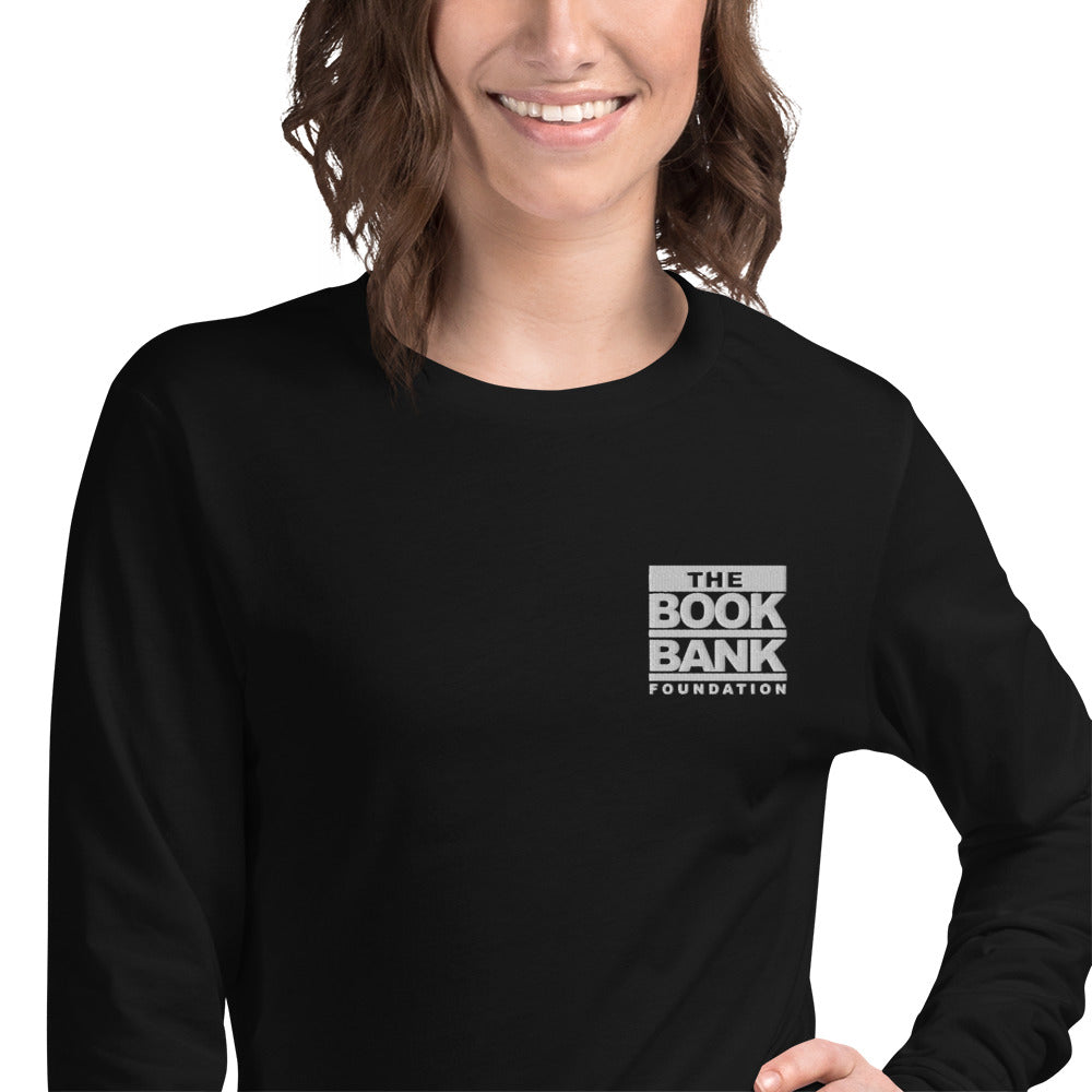 Book Bank Foundation Unisex Long Sleeve Tee