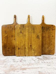 Medium French ReClaimed Square Charcuterie, Breadboard