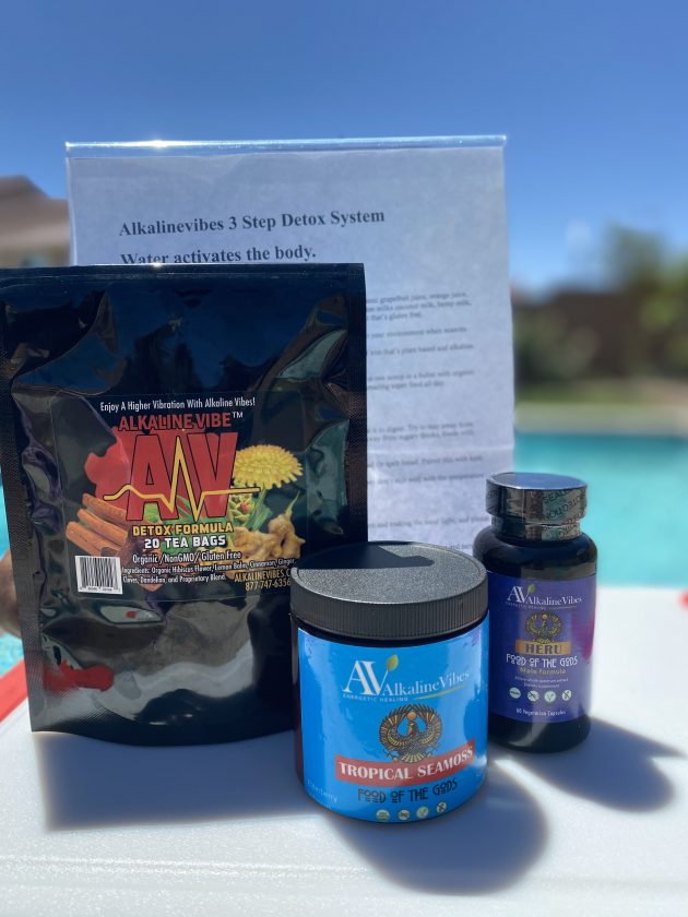 3 STEP SYSTEM MAXIMUM HEALTHCARE BENEFITS W/ TROPICAL SEAMOSS – MALE