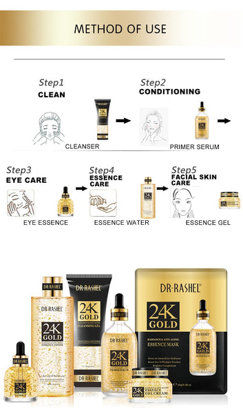 How To Use Dr Rashel Gold Series