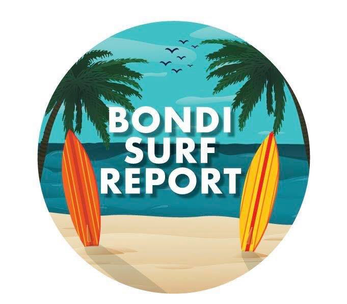 Bondi Surf Report Car Air Freshener