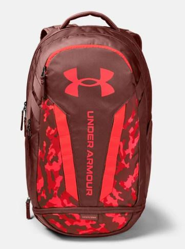Under Armour  Cinna Red Hustle Backpack
