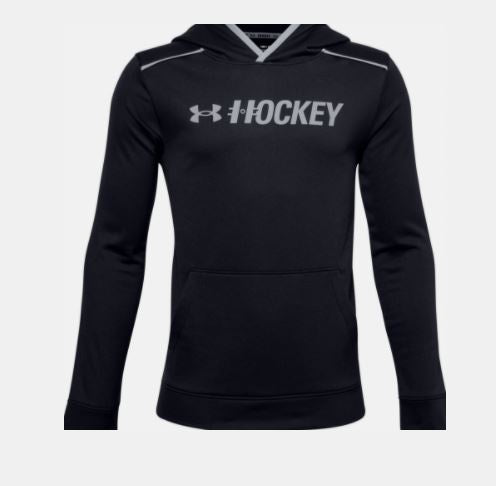 Boys Under Armour Graphic Hockey Hoodie