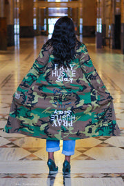 PRAY HUSTLE SLAY BOUTIQUE CAMO JACKET - Pray Hustle Slay