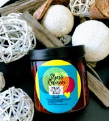 "PRAY HUSTLE SLAY ALL NATURAL BODY SCRUB ""STRESS RELIEVER"" - Pray Hustle Slay"