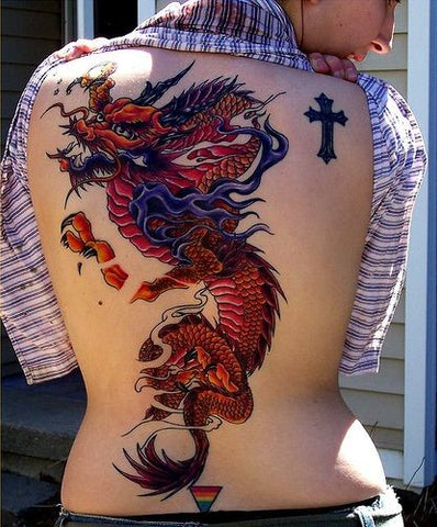 Red Dragon Tattoo Meaning