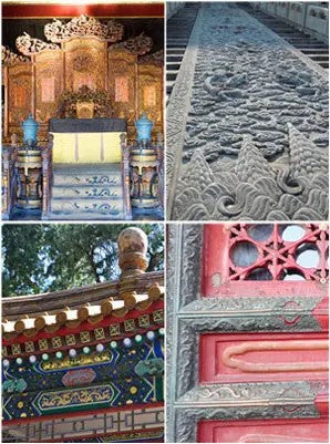 Ancient Imperial Buildings in the Forbidden City