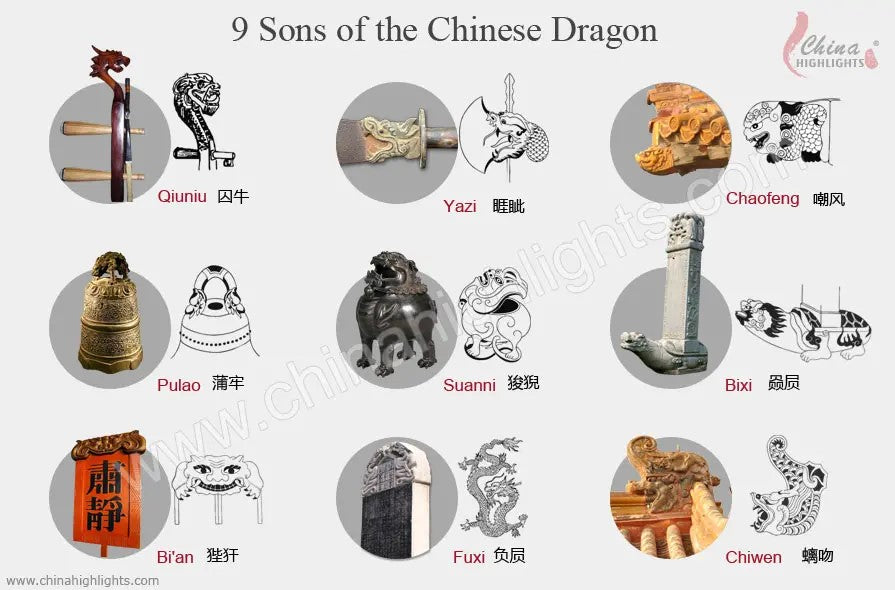 Sons of Chinese dragon