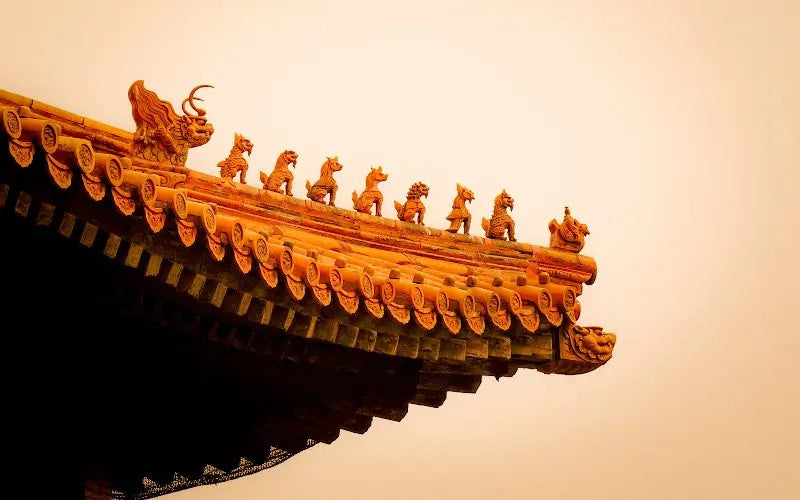 Chinese Dragons Building