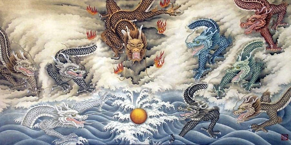 The Chinese Dragon's Nine Types