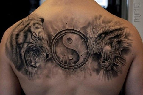 Dragon and tiger tattoo meaning