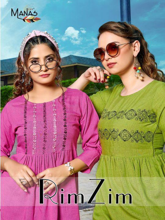 Manas Rim Zim Western Tops Catalog Collection - theempirehubs