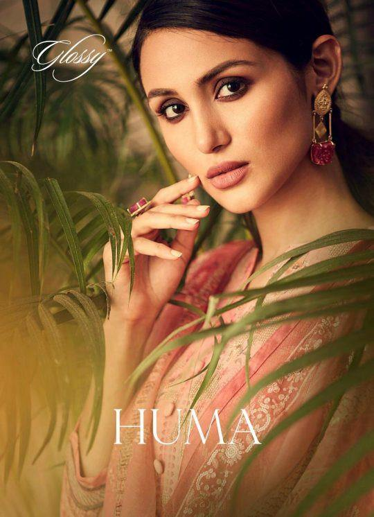 Glossy Huma 81-88 Series Georgette Sequence Work Plazzo Style Suits Catalog Collection - theempirehubs