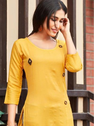 Rung Vanessa 5 Rayon Casual Wear Kurtis Catalog Collection - theempirehubs