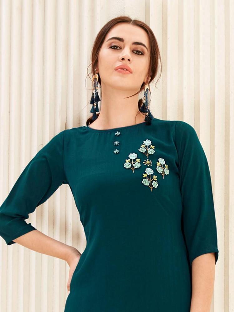 Channel 9 Naaz Stylish Rich Look Kurti Collection - theempirehubs