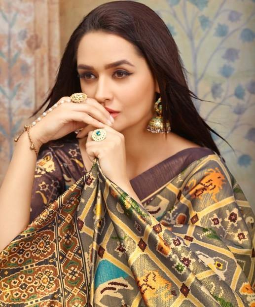 Apple Saheli 3 Designer Silk Printed Festive Wear Saree Catalog Collection - theempirehubs