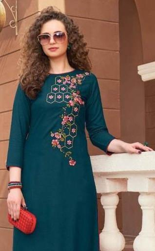 Bibas 5 Diya Trends Stylish Kurti With Bottom Catalog Collection - theempirehubs