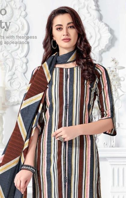 MFC Mayuri 1 Printed Cotton Dress Material Catalog Collection - theempirehubs