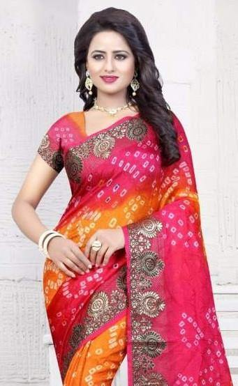 Bandhani Silk Saree Catalog Collection - theempirehubs