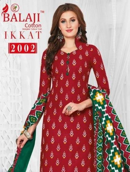 Balaji Ikkat Vol-2 Printed Cotton Dress Material Catalog Collection - theempirehubs