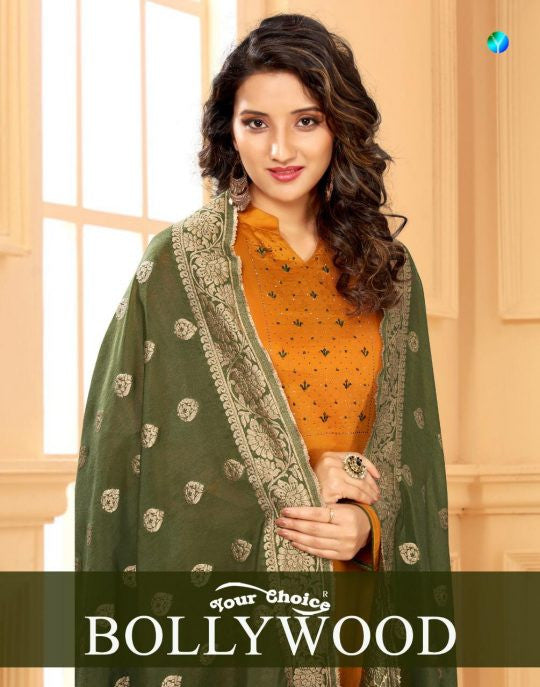 Your Choice Bollywood Straight Salwar Kameez Catalog Collection