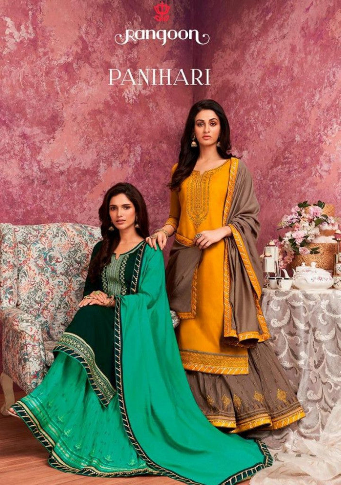 Kessi Rangoon Panihari Vol-1 Readymade Salwar Kameez Catalog Collection