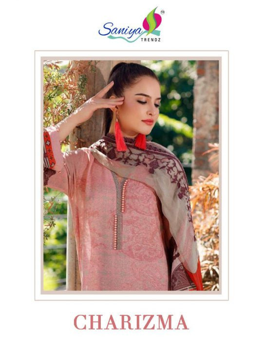 Saniya Trendz Charizma Pakistani Style Suits