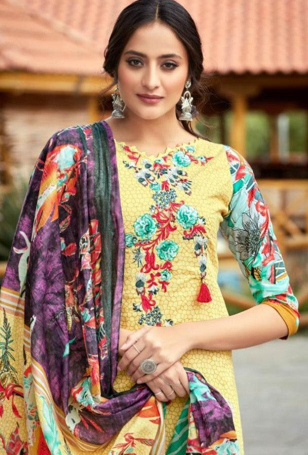 Cosmos Saadia Noor Lawn Collection Vol-2 Pure Lawn Cotton Suit Catalog