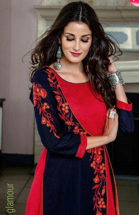 Lepcy Nayasa Cotton Stylish Kurtis Catalog Collection