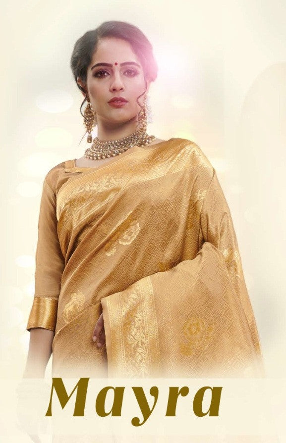 YNF Mayra Tanchui Art Silk Saree Catalog Collection