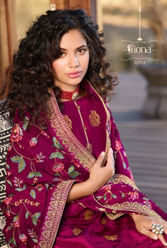 Fiona Taniya Designer Straight Salwar Kameez Catalog Collection