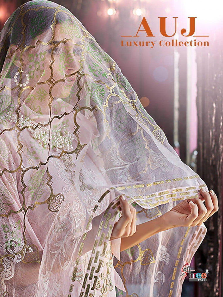 Shree Fabs Auj Luxuy Collection Pakistani Style Salwar Suits Catalog