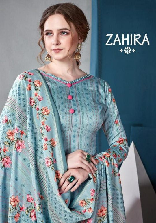Kaara Suits Zahira Jam Satin Digital Print Salwar Suits Catalog