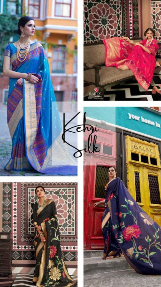 Rajtex Kehri Silk Saree Catalog Collection