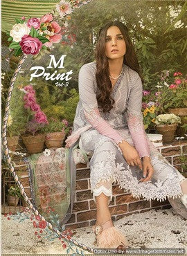 Shraddha M print Vol-3 Pakistani Lawn Cotton Suits Catalog