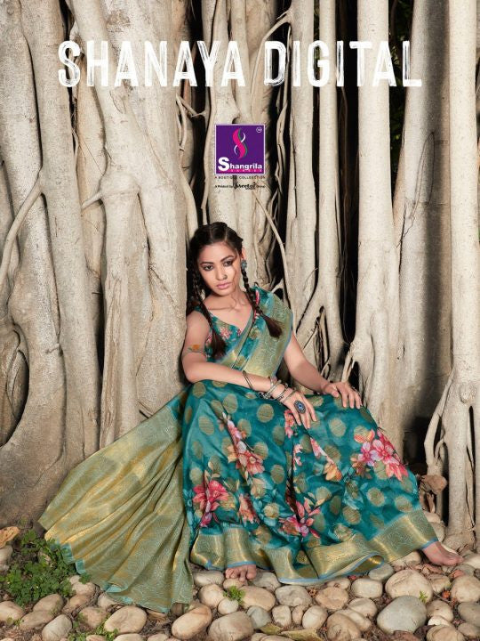 Shangrila Shanaya Digital Print Saree Catalog