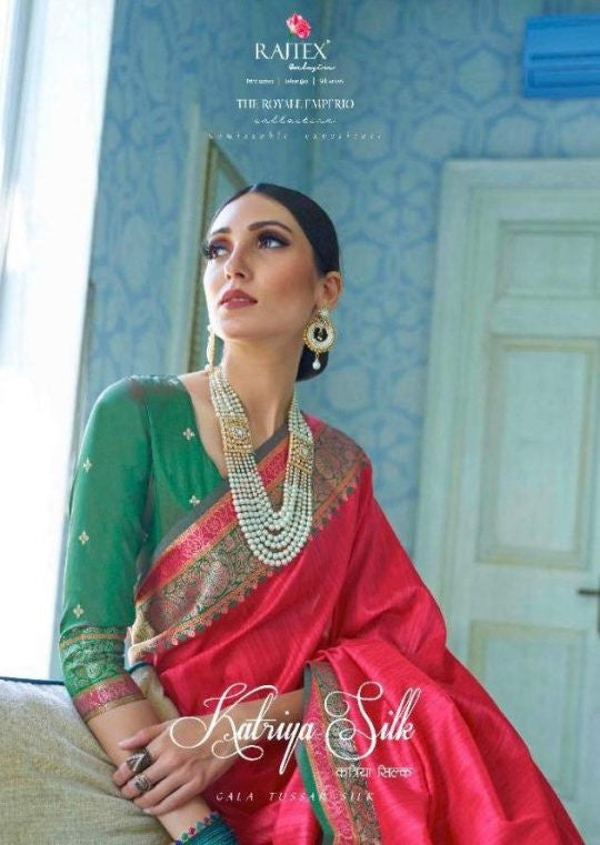 Rajtex Katriya Silk Saree Catalog Collection