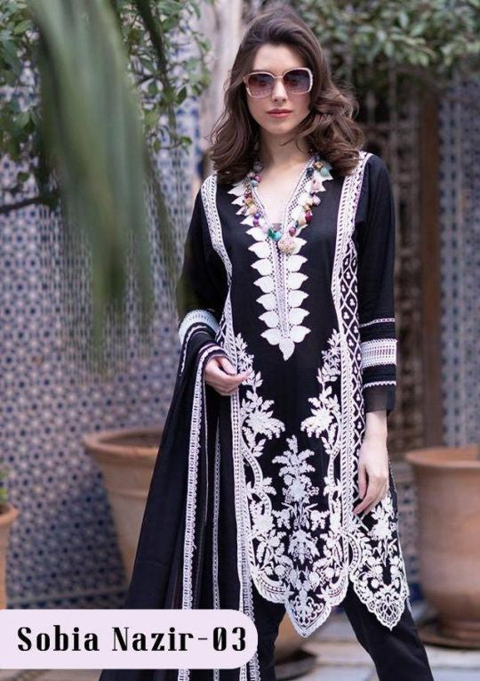 Deepsy Sobia Nazir Vol-3 Pakistani Style Suits Catalog